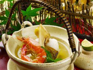 松茸土瓶蒸し Dobinmushi Matsutake